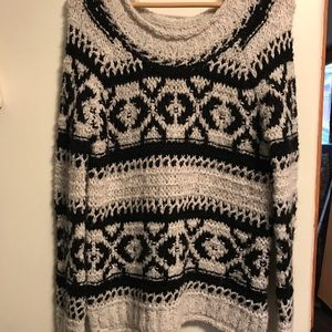 Free People knitted sweater tunic